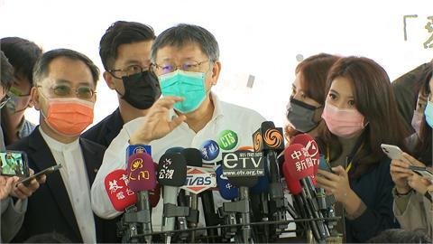 快新聞/吳怡農「精神錯亂說」 柯文哲嘆氣開酸:眼裡只有藍綠 國家被害去