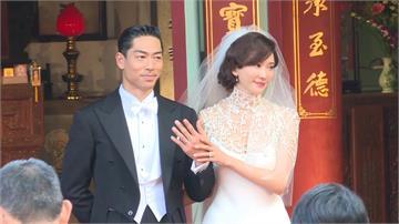 台南市府贈林志玲嫁妝 林繁男以書法寫謝卡致謝