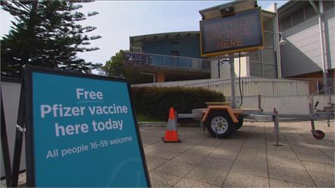 澳洲將讓學童接種疫苗 重災區雪梨續封 拼疫苗覆蓋率七成才考慮解封