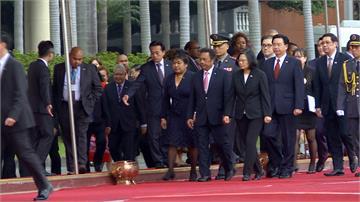 友邦不畏中國施壓!帛琉總統伉儷來台訪問