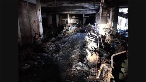 城中城大火釀46死關鍵 1樓停滿機車、防火門全遭盜賣