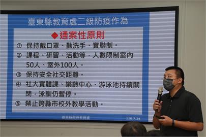 快新聞/全台727降至二級警戒 台東縣幼兒園、課照中心開放孩童到校上課