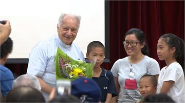 來台奉獻55年 義大利神父:死後要捐大體