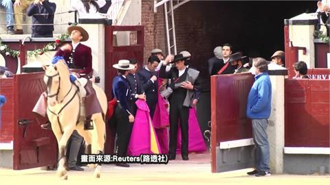 西班牙鬥牛運動重啟 百年鬥牛場重新開張