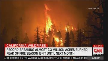 等同32個台北市燒毀!加州野火燒不盡