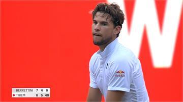 網球/柏林表演賽逆轉奪冠 世界第三蒂姆:美好的一天