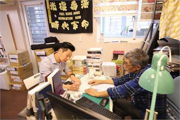 快新聞/林昶佐拜訪銅鑼灣書店 聽到林榮基一番話差點「爆哭」