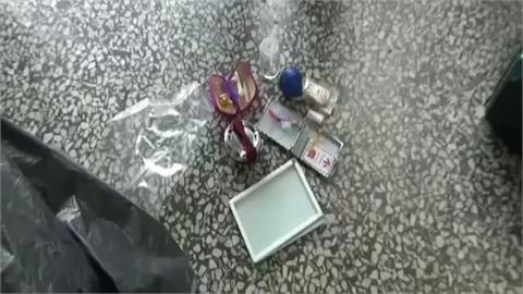 警登門搜索毒販 驚見土製炸彈就怕爆炸