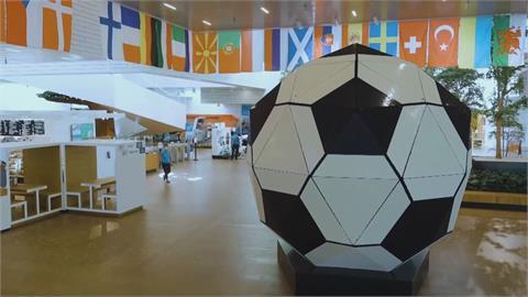 歐洲國家盃下週末丹麥開踢 樂高打造最大「積木足球」造勢