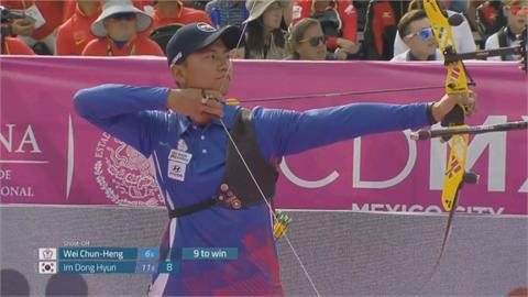險勝里約奧運銅牌澳洲 台灣射箭男團晉八強