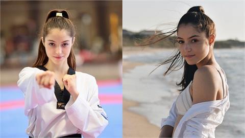 東奧/根本模特兒之戰!女子跆拳道49kg選手太美 鄉民求虐:好想被踢