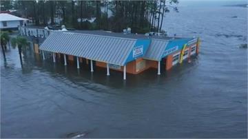 颶風莎莉登陸美國狂掃釀傷亡 墨灣單日雨量破460毫米