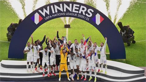 歐洲國家足球聯賽決賽 法國逆轉險勝西班牙封王