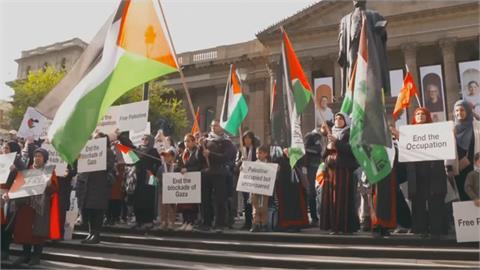 怒了!以色列空襲迦薩媒體大樓、哈瑪斯領袖住所  全球示威聲援巴勒斯坦