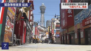 日緊急事態延長 大阪自訂解禁標準