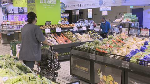 8月物價漲2.36% 主計處:颱風造成蔬果價漲