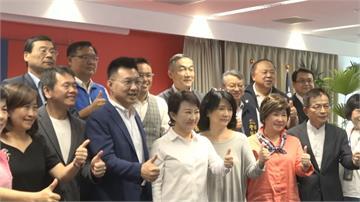 江啟臣率20藍委拜會盧秀燕 喊話中央預算 「不要那麼偏」