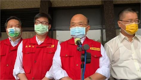 快新聞/城中城大火21死、14人OHCA 蘇貞昌慰問傷患:請各單位儘速將傷害降最低