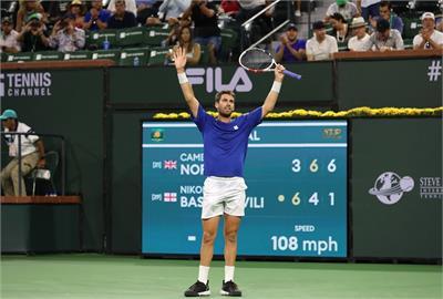 印地安泉網賽男單決賽 諾瑞替英國抱回首冠