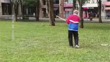 社區公園綠地打小白球 附近居民:打到人誰負責?