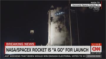 SpaceX天龍號送4人升空!彭斯夫婦到場見證
