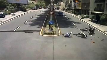 大湖台3線機車對撞 「炸彈開花」連續翻滾釀2傷