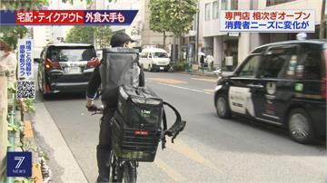 東京餐廳轉戰外送「TO GO」專門店 疫情時代新生機