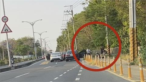 疑討債糾紛 台南6煞開3車包夾砍人!警漏夜帶回2嫌 主嫌等四人在逃...
