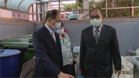 視察立院垃圾分類 游錫堃:大事從小處著手