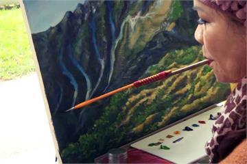 「二帶一路」創作展 身障者用藝術展現生命力