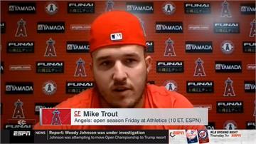 MLB/為孕妻猶豫是否參賽 天使楚奧特終表態投入球季