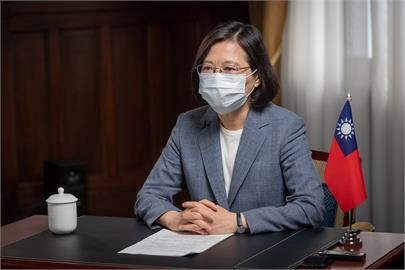 快新聞/美國捐助疫苗給台灣助抗疫 蔡英文致謝:台灣感到溫暖
