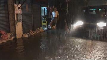 一夜驚魂!2起地震+雨彈狂炸 宜蘭市區一度積水30公分