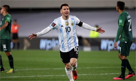 梅西超越傳奇球星比利 榮登國際賽南美進球王
