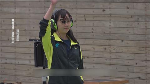 女子25公尺手槍決賽 吳佳穎第5名、田家榛第8名