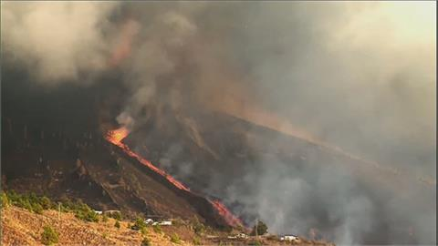 西班牙火山猛烈爆發吞噬災區 「奇蹟之屋」倖存