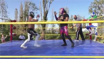運河上辦比賽 墨西哥「水上摔角」抗疫情
