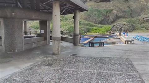 建物結構受損 「朝日溫泉」暫停遊客入園