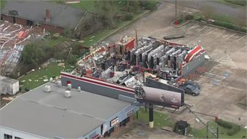 颶風蘿拉侵襲美國南部 路易斯安納州德州屋倒又停電