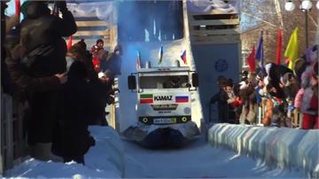 造型特色十足!俄羅斯創意雪橇賽登場