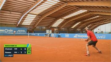 網球賽回來了! 德國辦室內閉門賽 讓小咖選手磨練