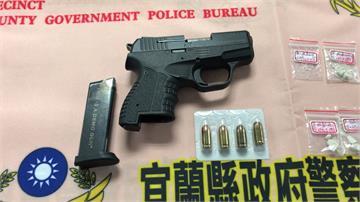 光天化日交易毒品遭活逮 警搜出改造手槍