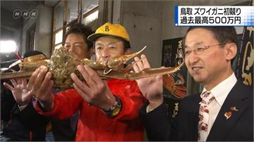 一隻螃蟹140萬元 打破金氏世界紀錄!