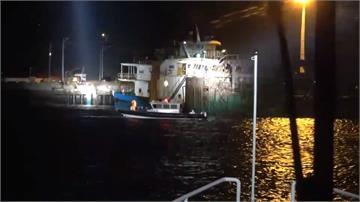 非法越界! 馬祖海巡強扣2千噸中國抽砂船