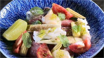 黑鮪魚生魚片變身泰國菜!酸辣襯托魚肉甘甜