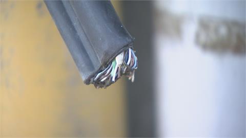 為幾千塊恐賠上小命! 北市慣竊偷電纜線變賣落網