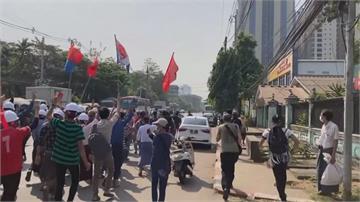 公民不服從! 緬甸上千人上街遊行抗議