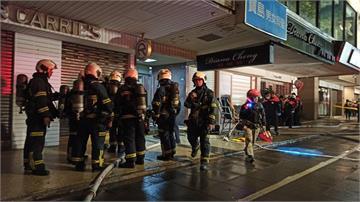快新聞/北市大安區晚間傳三級火警 一女OHCA一男死亡