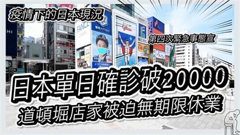 日本疫情持續嚴峻!他直擊大阪現況 驚嘆:唐吉軻德竟空無一人