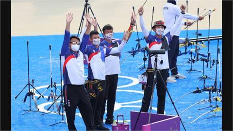 攝影區快門聲都模擬! 台灣射箭男團奪銀 模擬賽仿東京賽場曝光